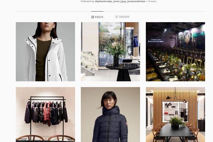 Canada Goose presenta una virtual shopping experience su misura