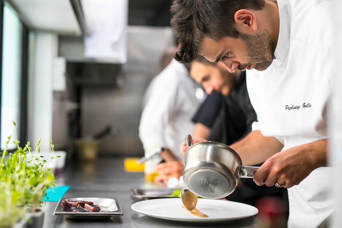Giulia Restaurant: lo chef Pierluigi Gallo sorprende sotto il cielo stellato