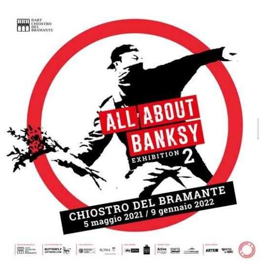 All about Bansky: nuova mostra Chiostro del Bramante