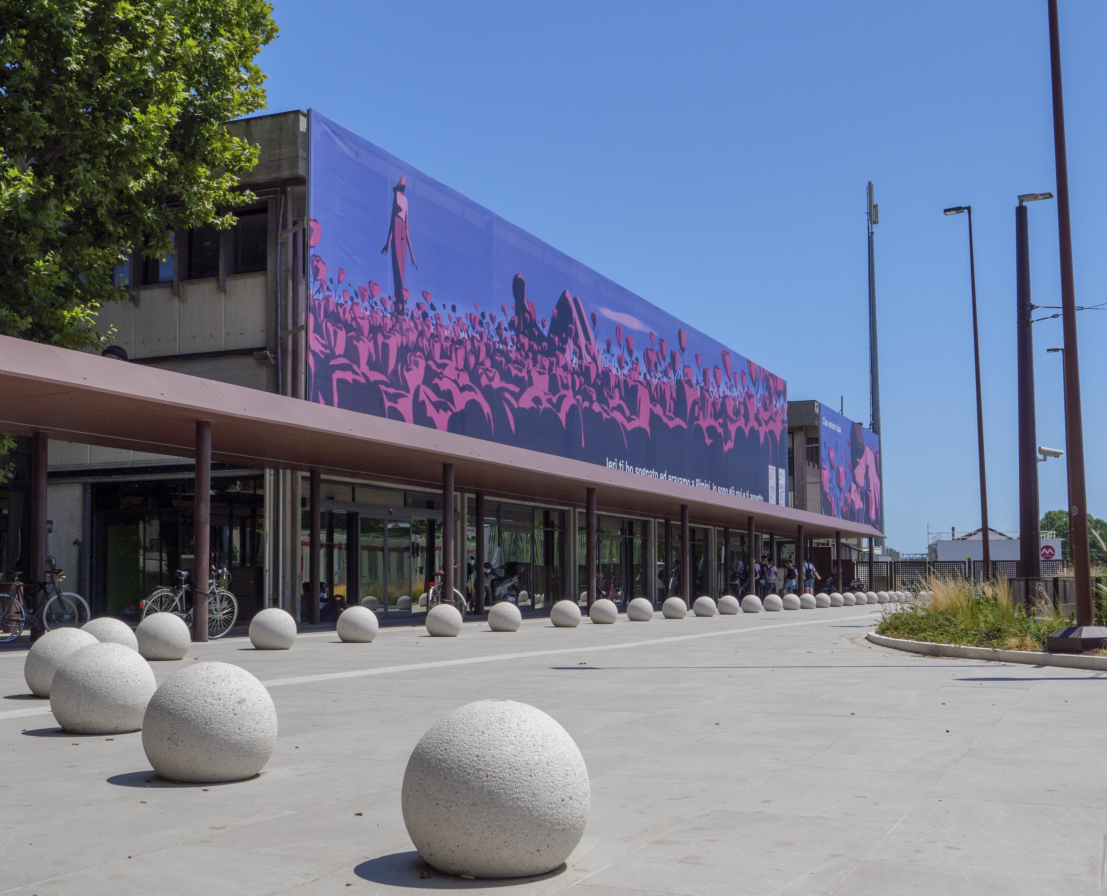 Blooming Rimini: arte, poesia, immagini e tecnologia comunicano la città